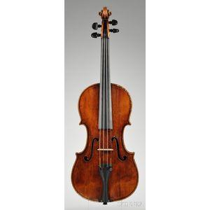 Composite Violin, Possibly Italian, c. 1800