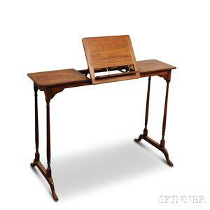 Georgian-style Mahogany Reading Stand