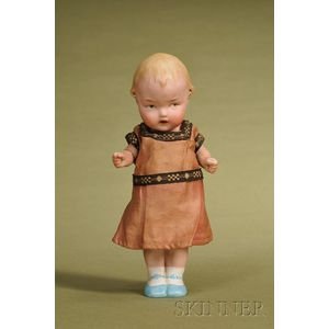 Heubach All-Bisque Character Child