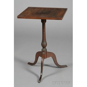 Federal Cherry Tray-top Candlestand