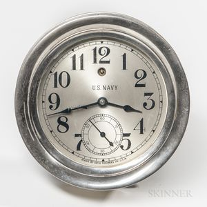 Seth Thomas U.S. Navy Wall Clock