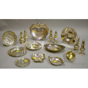 Fifteen Pieces of Assorted Sterling Silver