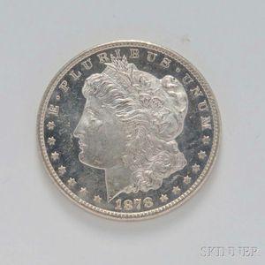 1878-CC Morgan Dollar, PCGS MS62.     Estimate $200-300