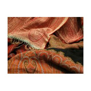 Five Assorted Paisley Shawls and Fragments.