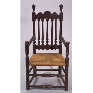 Bannister-back Arm Chair