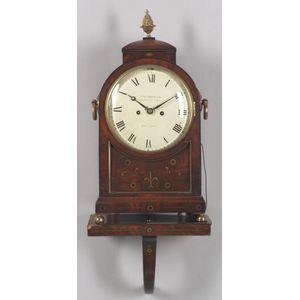 Mahogany Bracket Clock by Frodsham