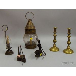 Six Assorted Lighting Devices