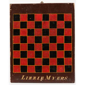 """Lizzie Myers"" Checkerboard"