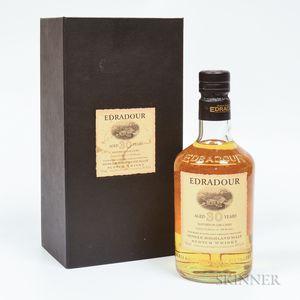 Edradour 30 Years Old 1973, 1 750ml bottle (pc)