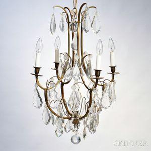 Louis XV-style Four-light Chandelier