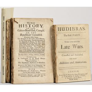 Poetry, Four Titles in Four Volumes, 1682, 1694, 1704, and 1816.