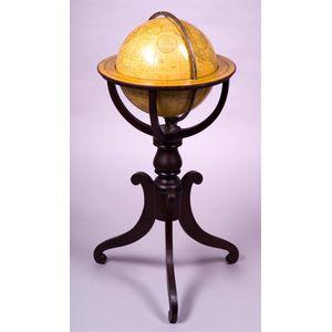 Franklin 12-inch Terrestrial  Library Globe by Nims & Knight