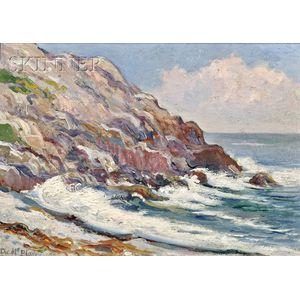 Dwight Blaney (American, 1865-1944)      Coastal View