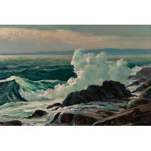 Stephen George Maniatty (American, 1910-1984)      Halibut Point, Rockport, Mass.