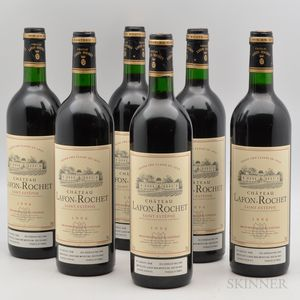 Chateau Lafon Rochet 1996, 6 bottles