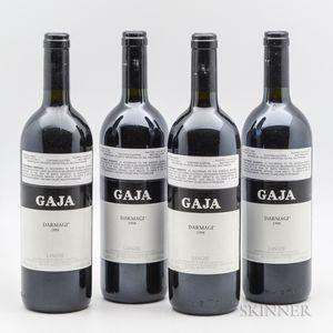Gaja Darmagi 1998, 4 bottles