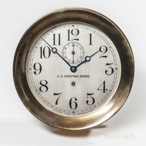 Large Chelsea Marine Clock