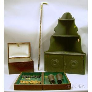 Four Assorted Decorative and Collectible Items