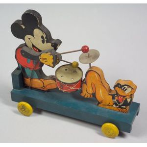 Mickey Mouse Band Push-Toy