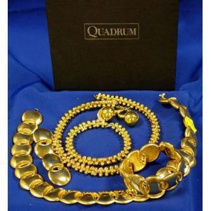 Group of Gold-tone Studio Design Jewelry