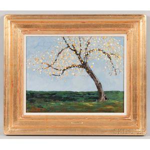 Lloyd Kelly (American, b. 1946)      Autumn Tree