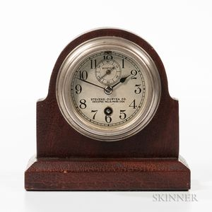 Stevens-Duryea Co. Automobile Clock