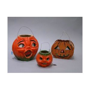 Three Jack O' Lanterns