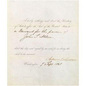 Johnson, Andrew (1808-1875)