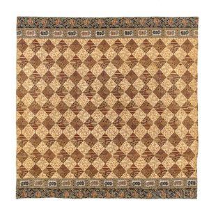 Pieced Glazed Cotton Quilt