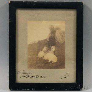 British School, 19th Century      Photographic Reproduction of a William Morris Hunt Painting