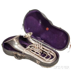 H.N. White King Double Bell Euphonium, c. 1930