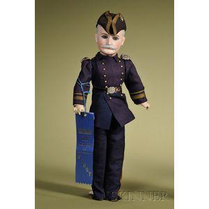 Admiral George Dewey Portrait Doll