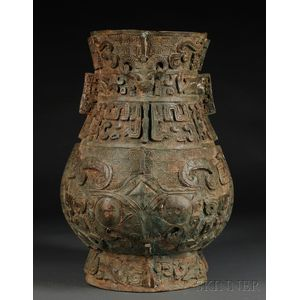 Archaic-style Bronze Vessel