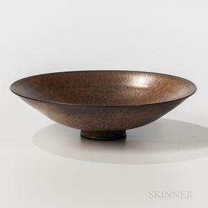 Mary and Edwin Scheier Art Pottery Bowl