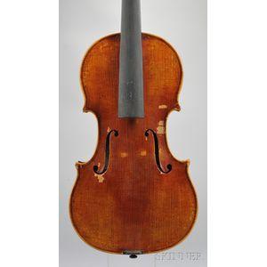 Modern Violin, Anton Schroetter, Mittenwald, c. 1975
