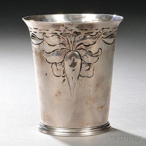 George III Sterling Silver Beaker