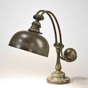 Tiffany Studios Counterbalance Table Lamp