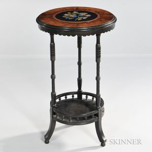 Aesthetic Movement Pietra Dura Table