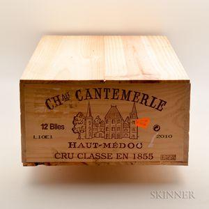 Chateau Cantemerle 2010, 12 bottles (owc)