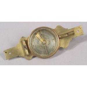Near-Miniature Brass Plain Surveyor