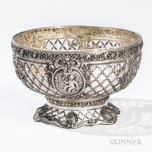 German .800 Silver Bowl