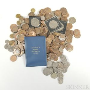 Large Group of World Coins