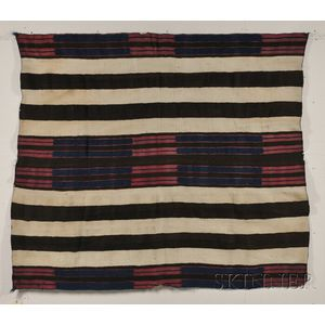 A Classic Navajo Wearing Blanket