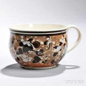Staffordshire Slip-decorated Creamware Cup