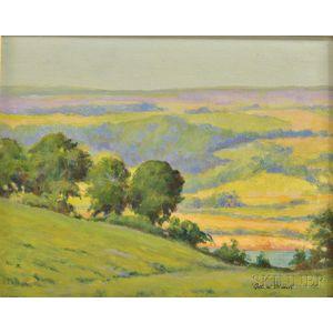 American School, 20th Century      Verdant Valley Landscape