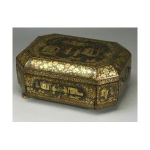 Chinese Export Sewing Box