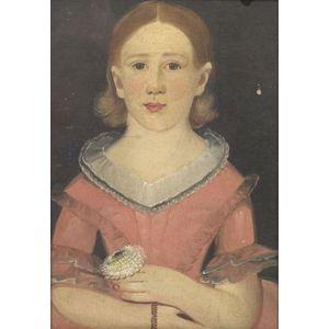 William Matthew Prior (Maine, Maryland, and Massachusetts, 1806-1873)  Portrait of a Girl.