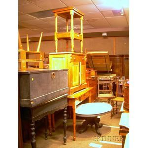 Nine Pieces of Assorted Furniture