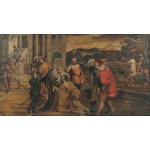 School of Jacopo da Ponte Bassano (Italian, c. 1510-1592)      Return of the Prodigal Son