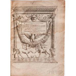 Vico, Enea (1523-1567) Augustarum Imagines Aereis Formis Expressae.